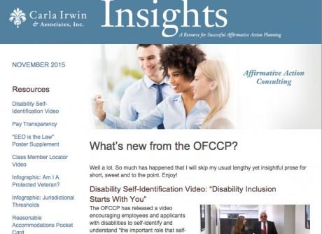 Insights Newsletter November 2015