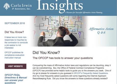 Insights September 2016
